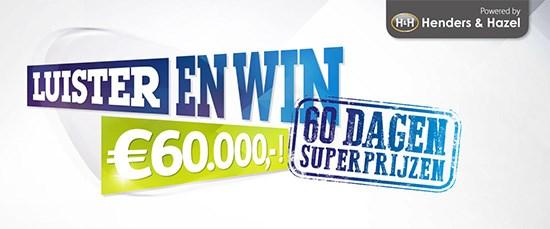 Henders & Hazel 60 dagen superprijzen bij Sky Radio!