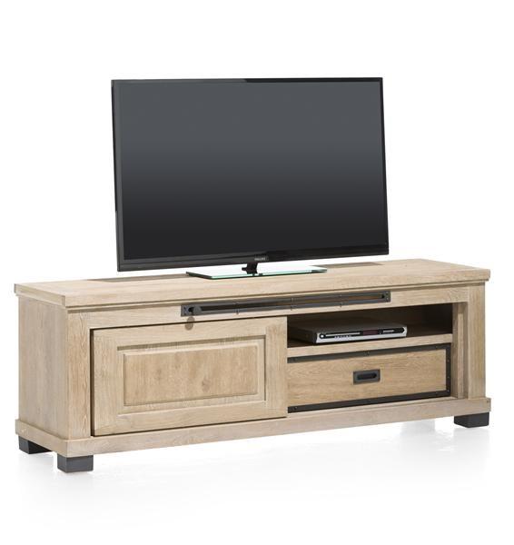 Atelier, Tv-dressoir 1-schuifdeur + 1-lade + 1-niche – 160 Cm