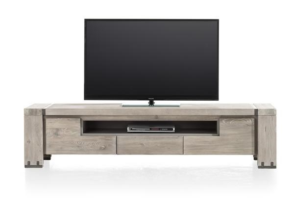 avola tv dressoir 2 kleppen 1 lade 1 niche 190 cm henders hazel meubelen bijzonder. Black Bedroom Furniture Sets. Home Design Ideas