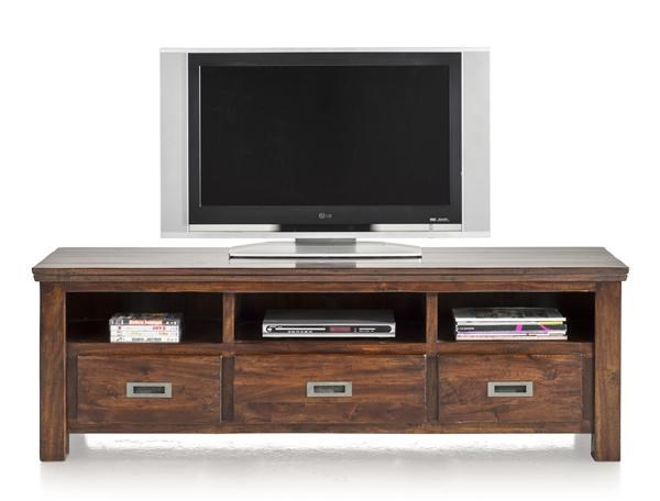 Cape Cod, Tv-dressoir 3-laden + 3-niches – 160 Cm
