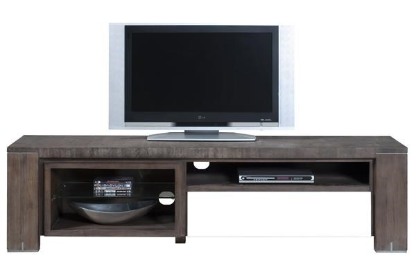 Cataluna, Tv-dressoir 1-lade + 3-niches – 190 Cm.