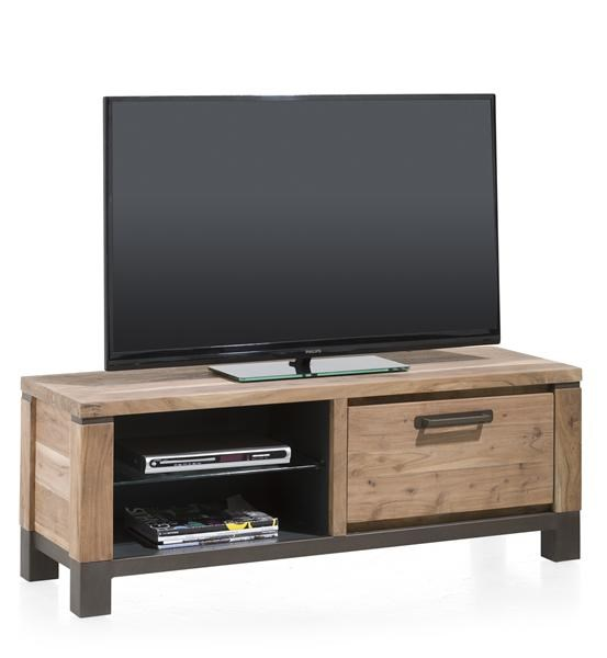 Falster, Tv-dressoir 1-klep + 2-niches 130 Cm