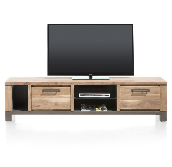 Falster, Tv-dressoir 1-lade + 1-klep + 3-niches 190 Cm