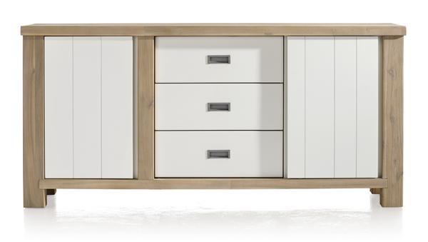 Istrana, Dressoir 1-deur + 1-schuifdeur + 3-laden – 180 Cm
