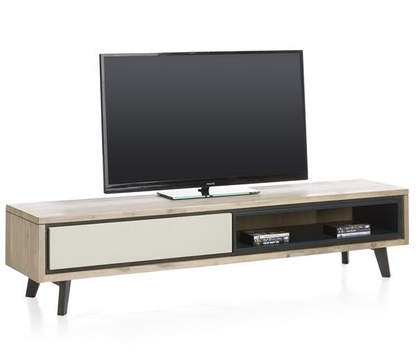 Jade, Tv-dressoir 1-klep + 1-niche – 180 Cm
