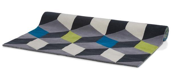 Karpet 3d Block – 160 X 230 Cm