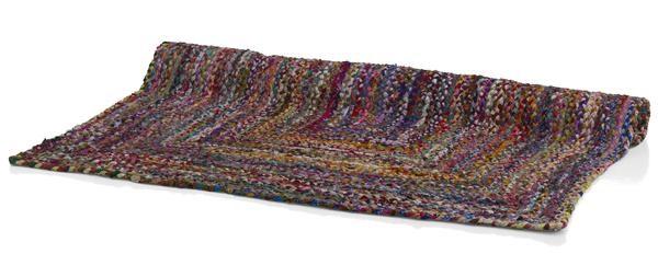 Karpet Funky 160 X 230 Cm Recycled Denim&chindi