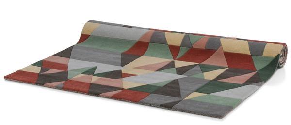 Karpet Geometrics – 160 X 230 Cm – Handgetuft Wol