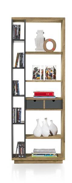 Modrava, Roomdivider 1-lade + 10-niches – 70 Cm