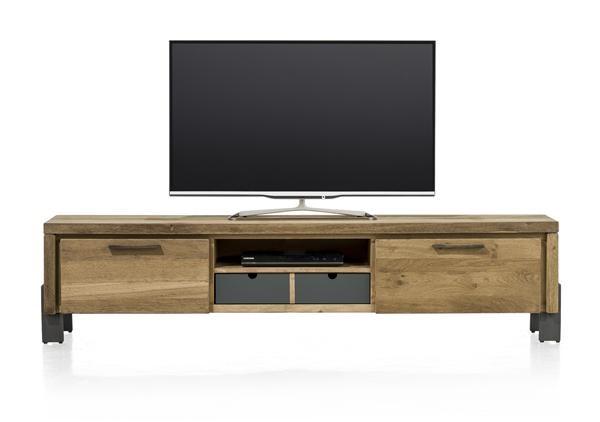 Modrava, Tv-dressoir 1-klep + 1-lade + 1-mand + 1-niche – 180 Cm