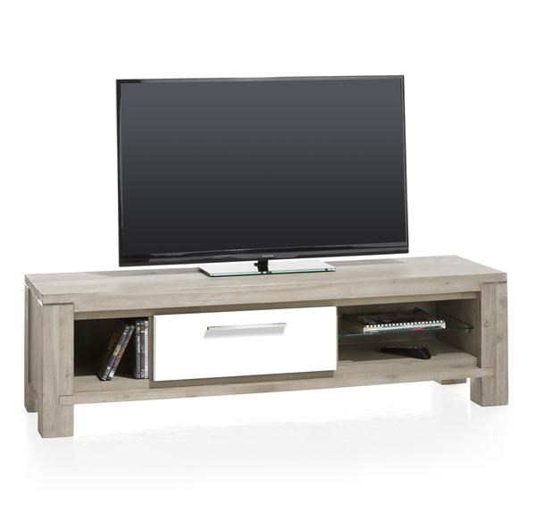 multiplus tv dressoir 1 klep 3 niches 150 cm henders hazel meubelen bijzonder in wonen. Black Bedroom Furniture Sets. Home Design Ideas