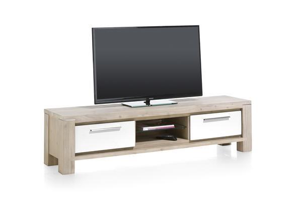 Multiplus, Tv-dressoir 1-lade + 1-klep + 2-niches – 180 Cm