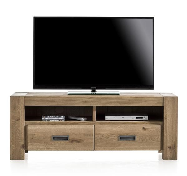 Santorini, Tv-dressoir 2-laden + 2-niches – 140 Cm