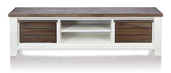 velasco tv dressoir 2 boxen 2 niches 190 cm henders hazel meubelen bijzonder in wonen. Black Bedroom Furniture Sets. Home Design Ideas